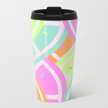 pastel-melon-oranges-metal-travel-mugs