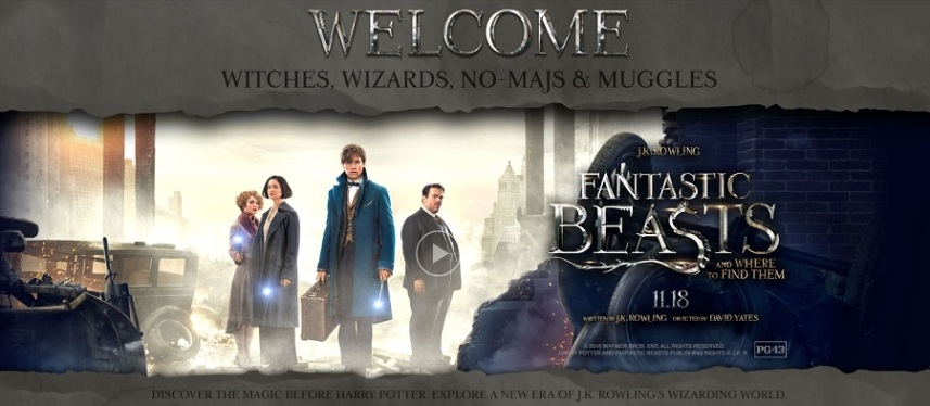 Image result for fantastic beast and where to find them banner